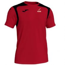 Priorians Hockey Club Joma Champion V S/S Shirt Red/Black Adults 2019